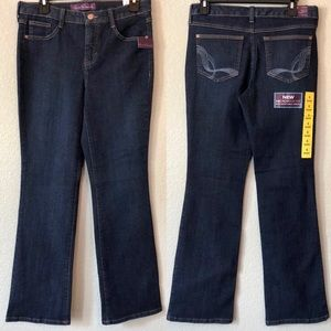 NWT 6 SHORT Gloria Vanderbilt Denim Jeans
